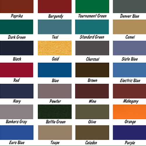 Twin Cities Pool Table Guy Felt ColorsPool Table ReFelting - Black pool table with blue felt